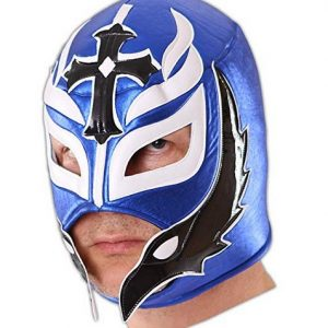 Máscara Wrestling Blue Hero
