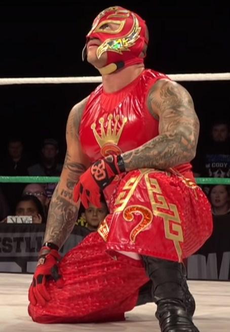 luchador Rey Mysterio