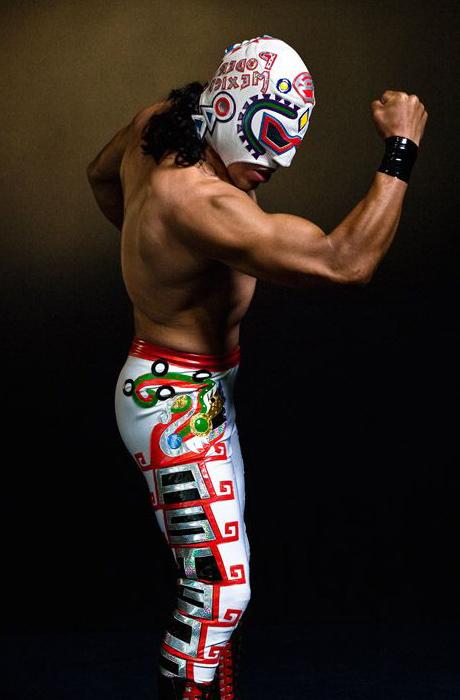 traje de luchadores
